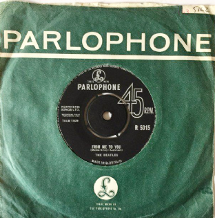 "Beatles (The) ‎- From Me To You (7"") (G+/G+)"